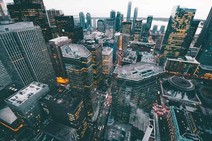 aerial architectural design architecture buildings